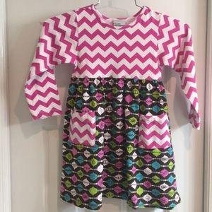 Flap Happy girls dress Size 4